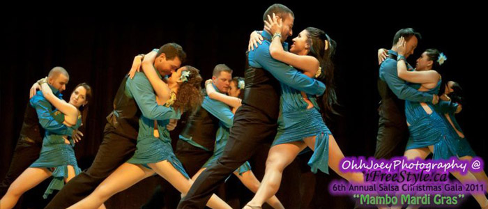 Salsa Bachata Performance Groups