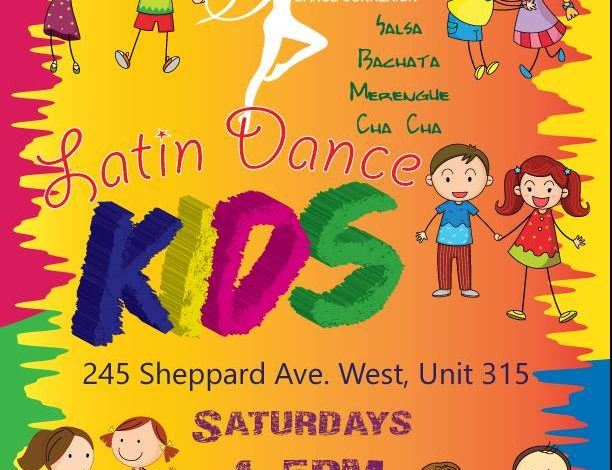 Summer Latin Dance Kids
