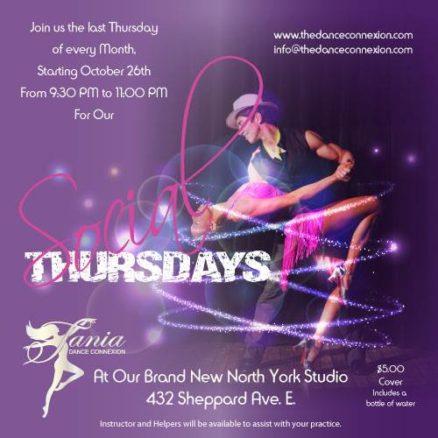 Dance ConneXion Monthly Salsa Bachata Studio Social