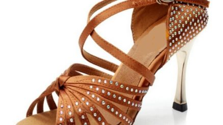 Professional Latin Dance Shoes 8.5cm Heel $110