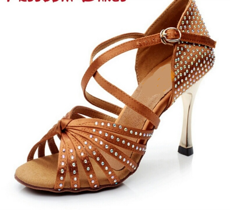 STARRY NIGHT (Tan) - Professional 8.5cm Heel $120 includes Heel Protector