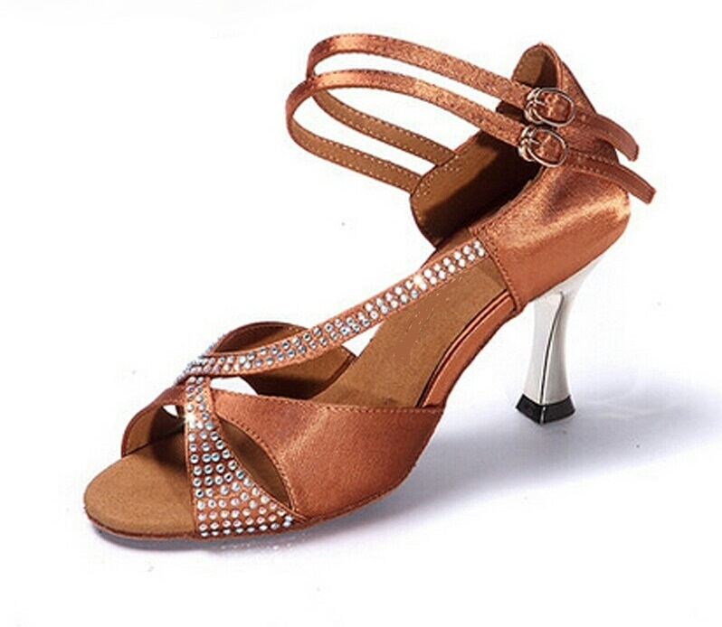 LUXURY (Tan) - Professional 7.5cm Heel $120 includes Heel Protector