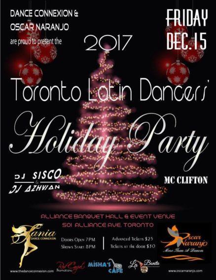 2017 Toronto Latin Dancers' Holiday Party