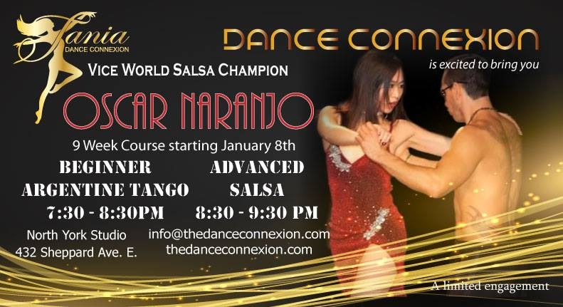 Learn from the Vice World Salsa Champion at Dance ConneXion!