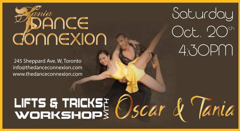 Workshop Series: Lifts & Tricks Workshop with Oscar & Tania Jul 20