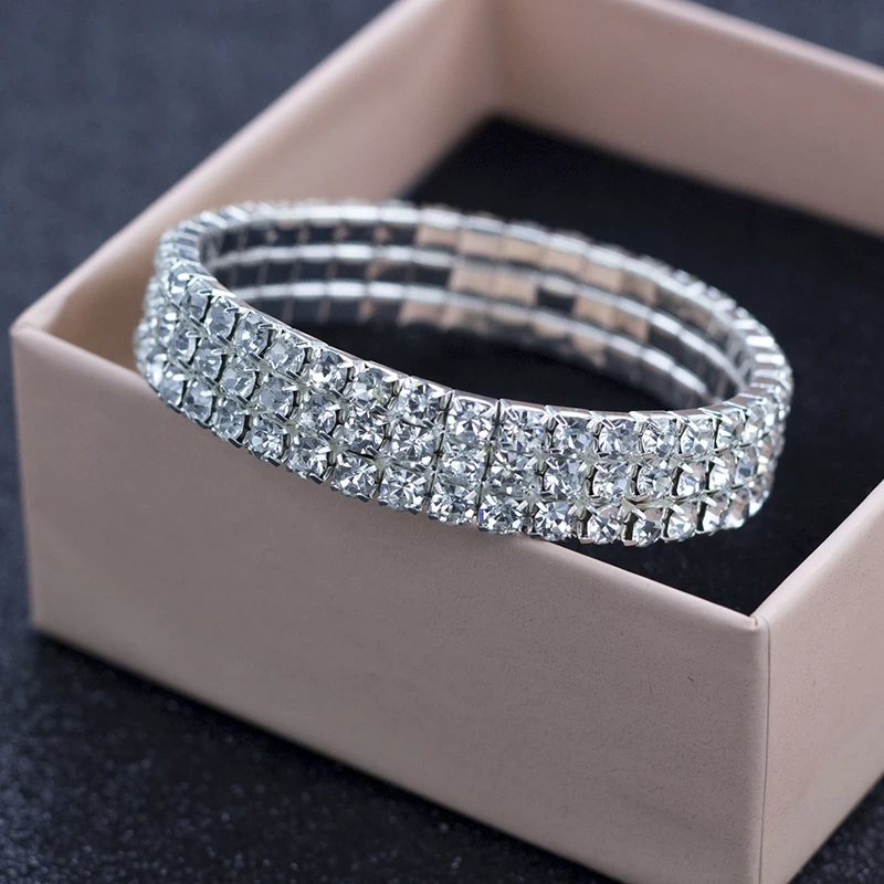 Performance 3 row bracelet $8 (or combo performance jewellery pack for $20)